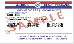Medicare Form Example